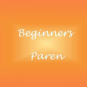 beginners paren