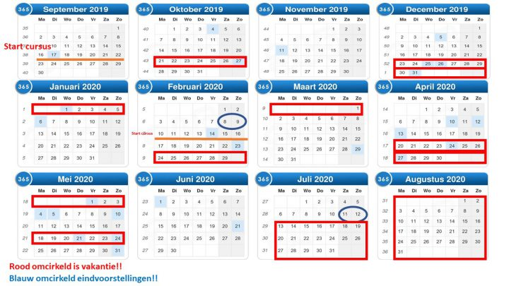 jaarplanner 19 20
